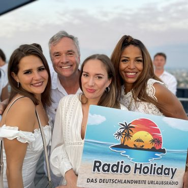 Bernd Roller, Anne Graul, Ronnie Lison Radio Holiday White Night Party